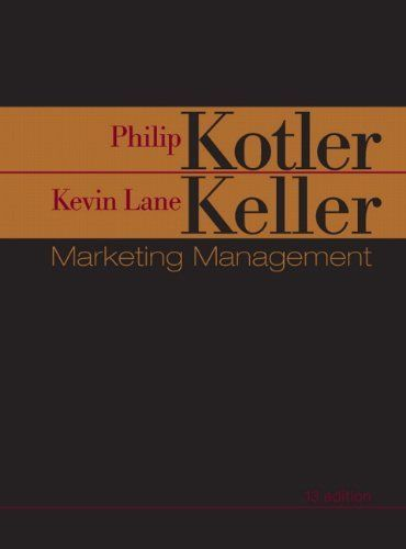 Marketing Management (13th Edition) by Phil Kotler. $12.98. Publication: February 25, 2008. Publisher: Prentice Hall; 13 edition (February 25, 2008). Edition - 13