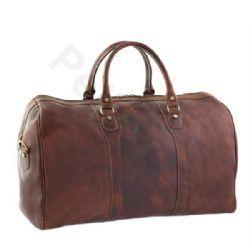 Pellevera,Borse da viaggio,Alicante,borsa in pelle,a mano e tracolla con manici,borsone.