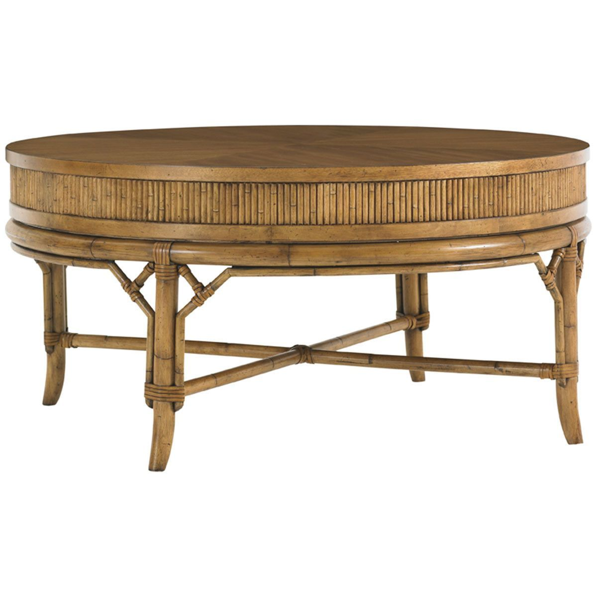- Tommy Bahama Beach House Oyster Cove Round Cocktail Table 540-943