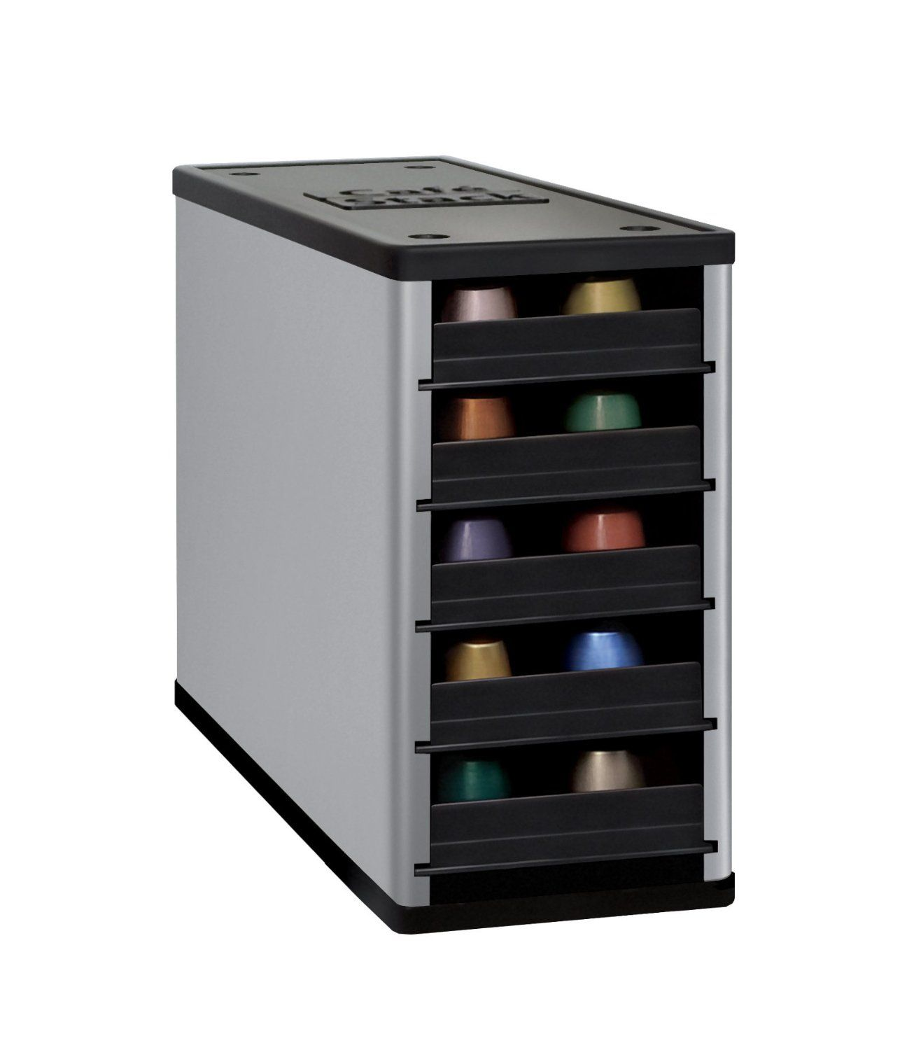 CaféStack® is the only capsule organizer designed for your