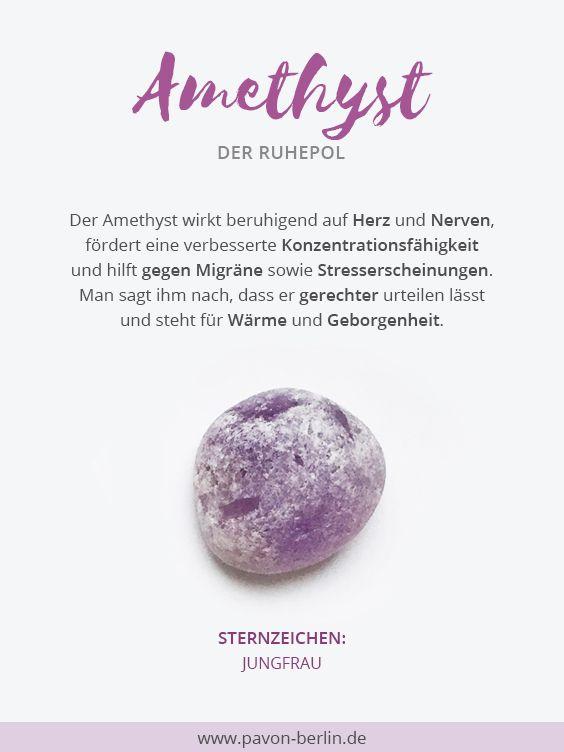 #Bedeutung von #Amethyst #gemstones #gemstonejewelry #edelsteine #heilsteine #esoterik #halbedelsteine #lila #purple #trendfarbe #crystalhealing