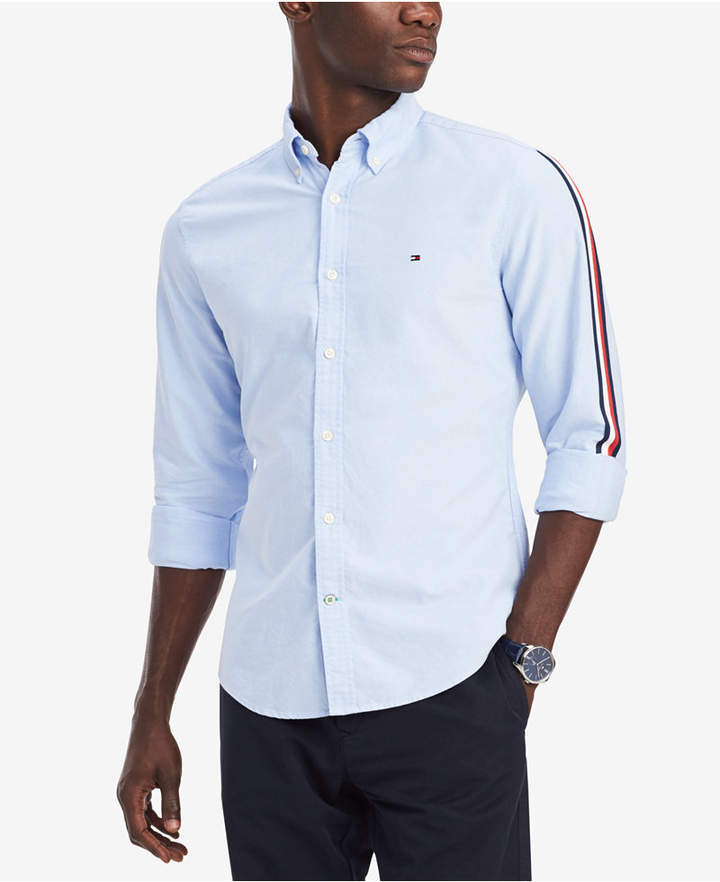 a2b4d553b Tommy Hilfiger Men Side Stripe Oxford Shirt in 2019 | Products ...