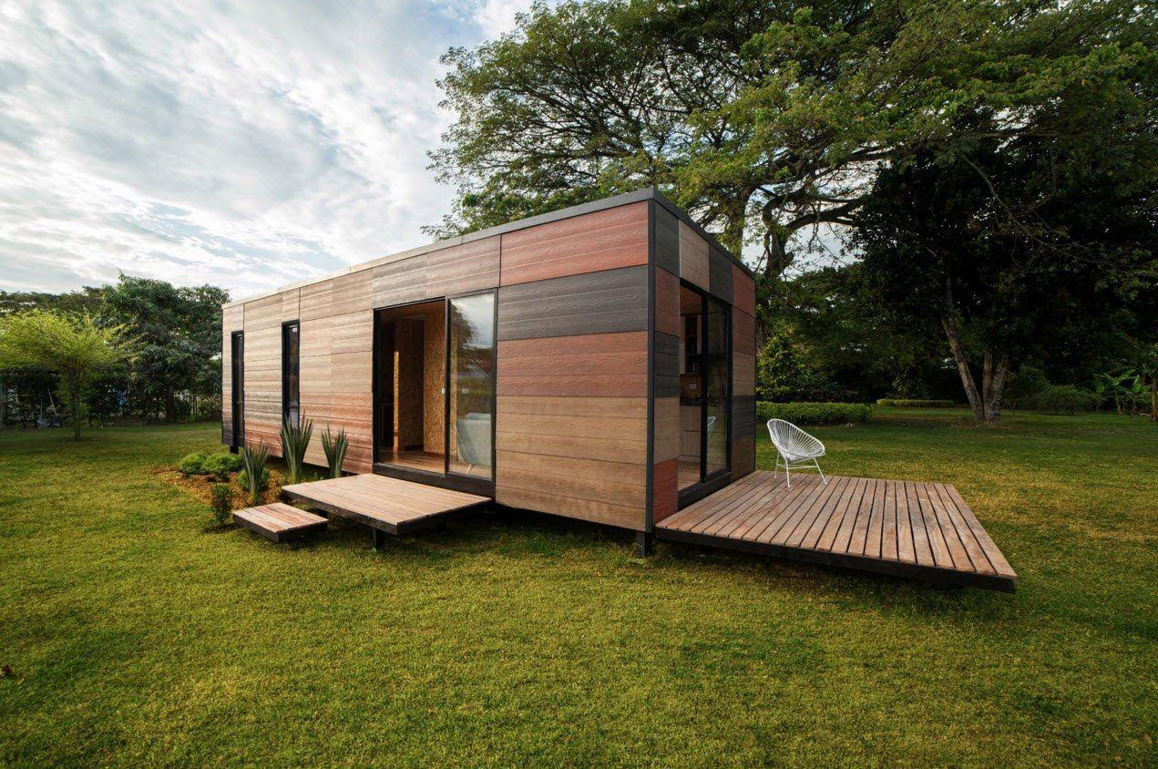 Resultado de imagen para cabañas modernas minimalistas planos ...