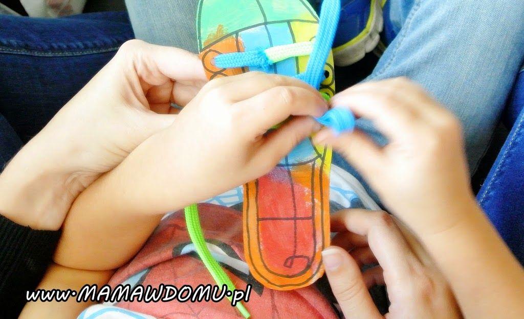 Jak Nauczyc Dziecko Sznurowania Butow Mama W Domu