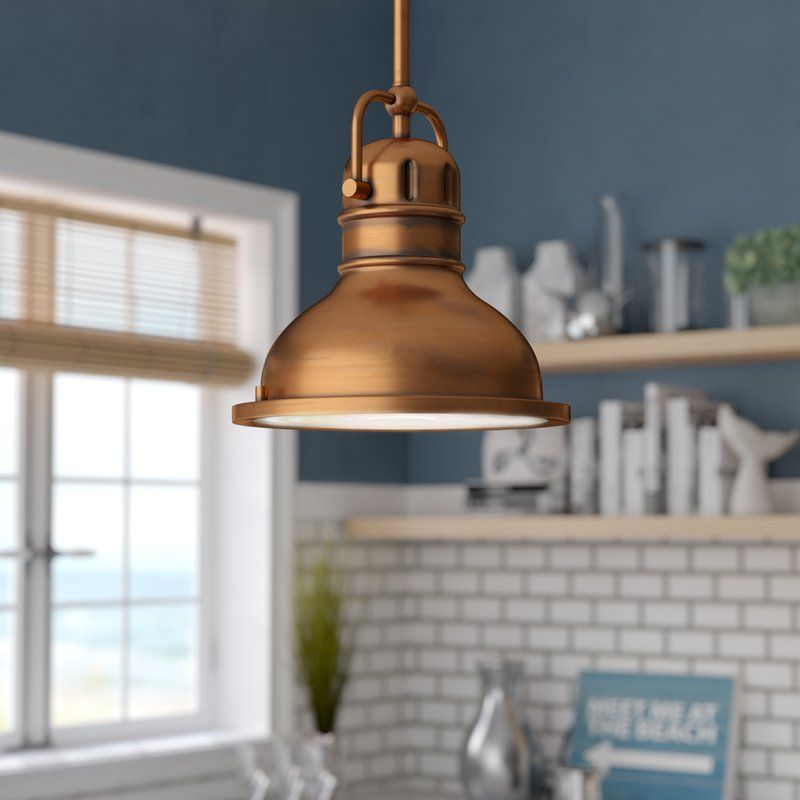 Merrick 1-Light Dome Pendant #951ryecourt