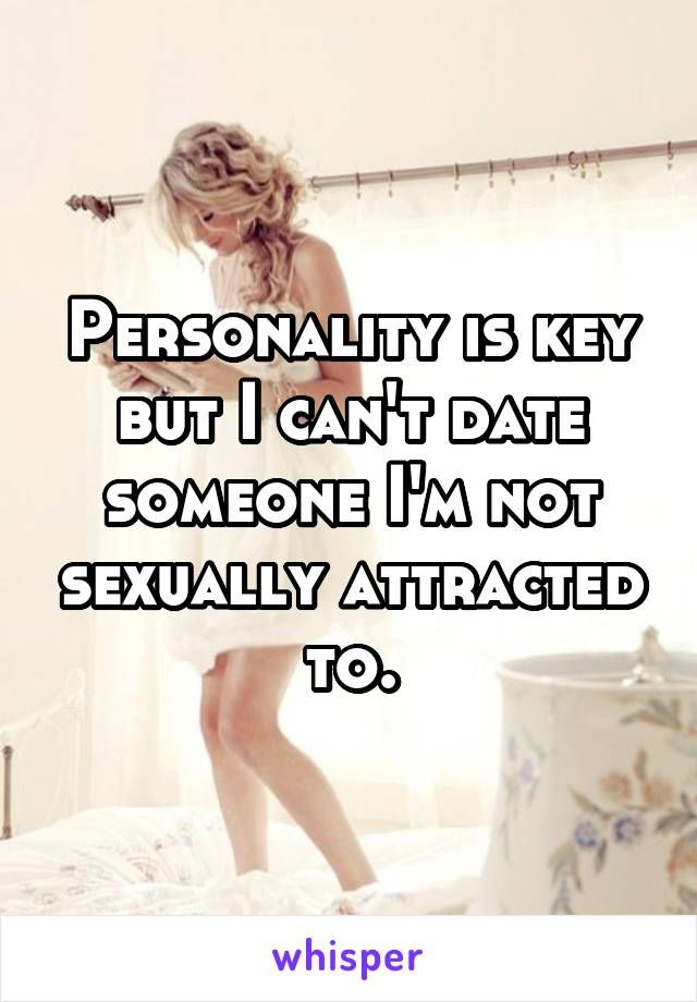 Dating someone not sexually attracted to