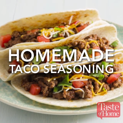 Homemade Taco Seasoning Recipe #maketacoseasoning