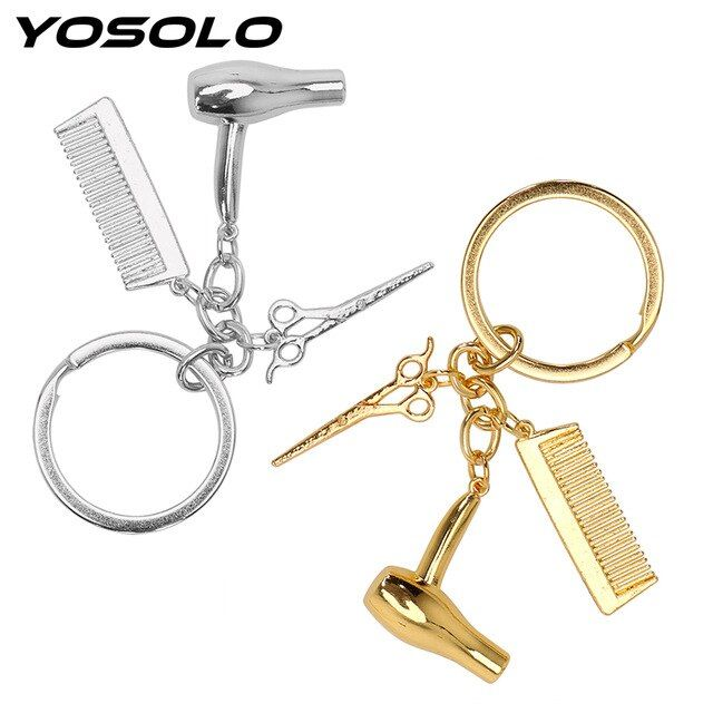 iPick Image Honda CR-V Rectangular Brown Leather Key Chain Key-Ring