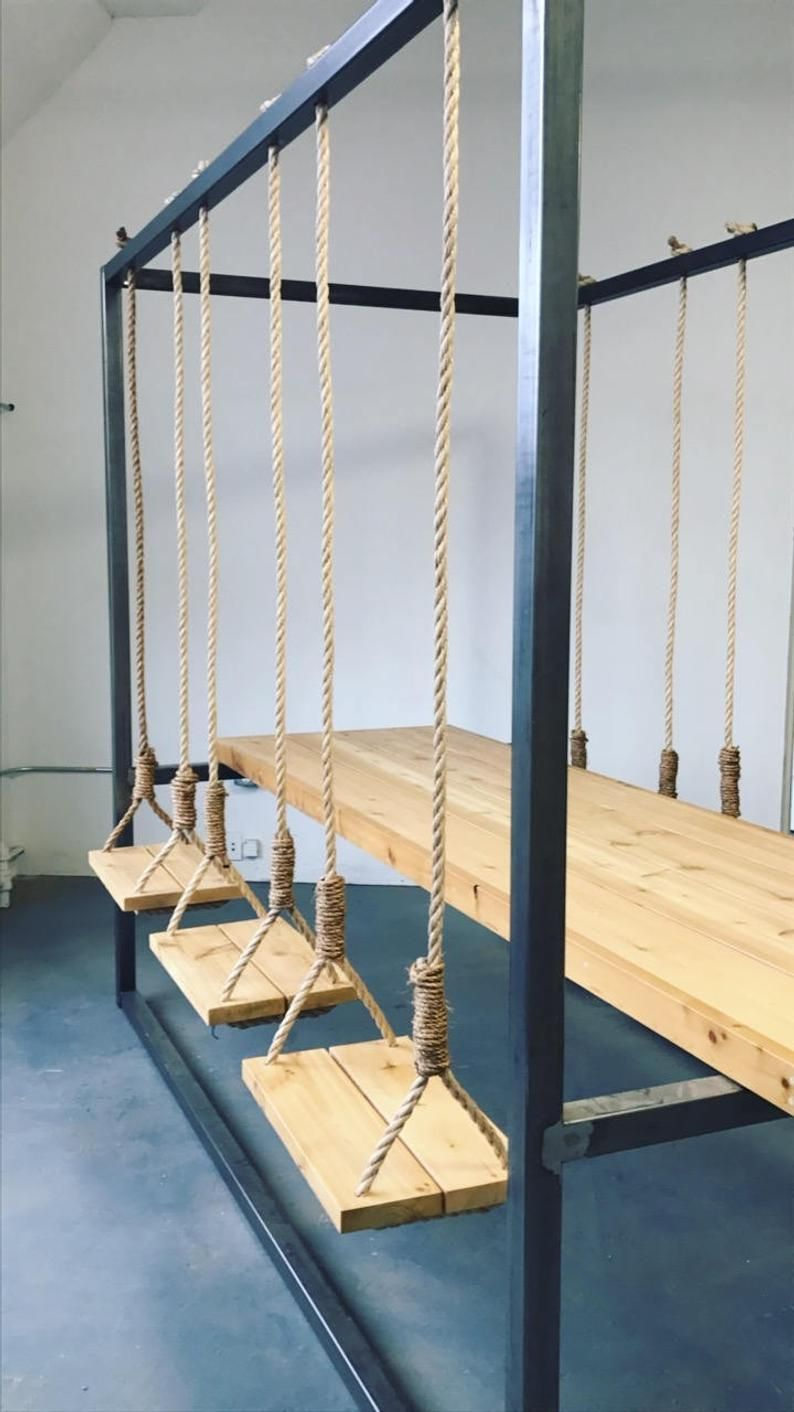 6 Seat Swing Table With Rope 2018 House In 2019 Swing