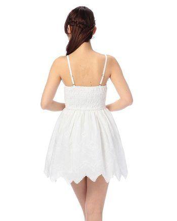 LIZ LISA Embroidered Hem Dress w/ Official LIZ LISA Shop Bag 6