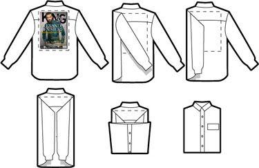 Como doblar una camisa para la maleta (o el armario)   Refineria de Caballeros