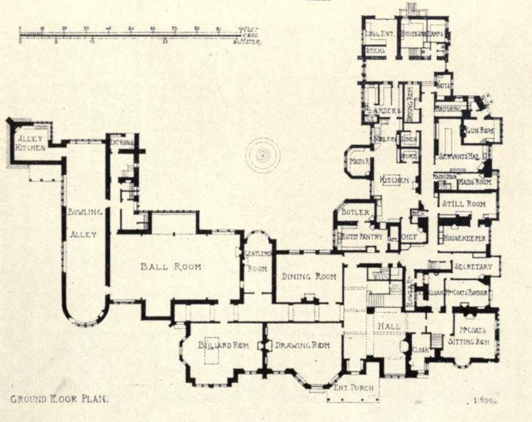 Pin By Todd Carney On Gilded Age Homes Mansion Plans Floor Plans House Plans