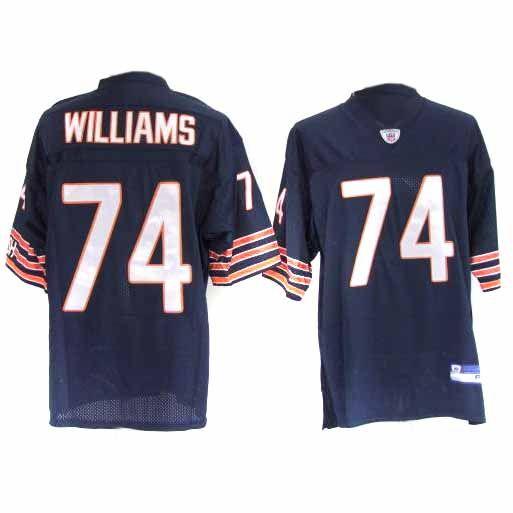 Cheap 74 Chris Williams Blue Chicago Bears Pick Jersey | jerseys | Nfl  hot sale