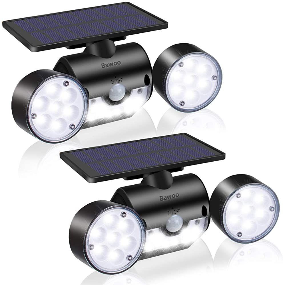 Solarlampen Garten Bawoo Led Solarleuchten Fur Aussen 2 Stuck Wandleuchte Mit Bewegungsmelder Solar Ip65 Wasserdicht Ausse In 2020 Solarleuchten Solarlampen Aussenlampen