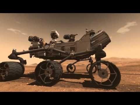 Mars Science Laboratory Curiosity Rover Animation - YouTube ...