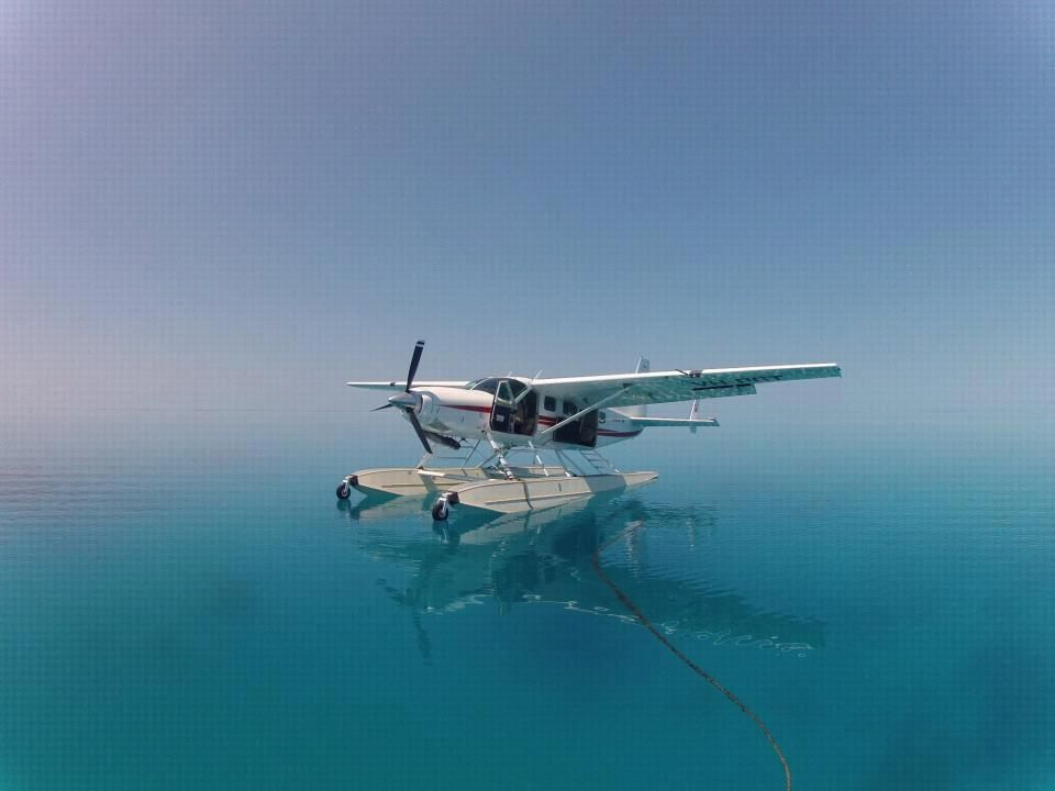 I love float planes. This is so tranquil