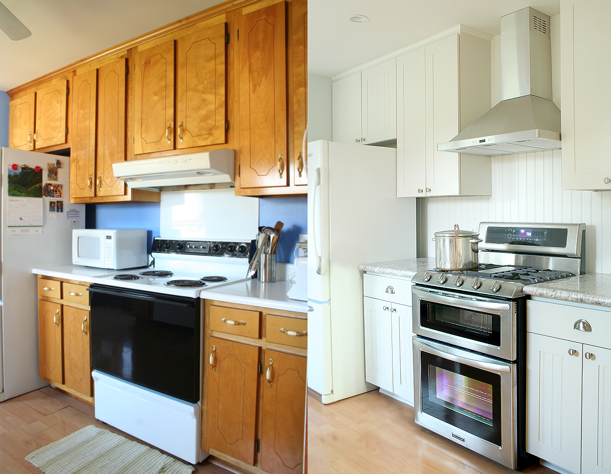 Kitchen Makeovers On A Budget Before And After Remodel Before And After  Real Estate Investments  Pinterest