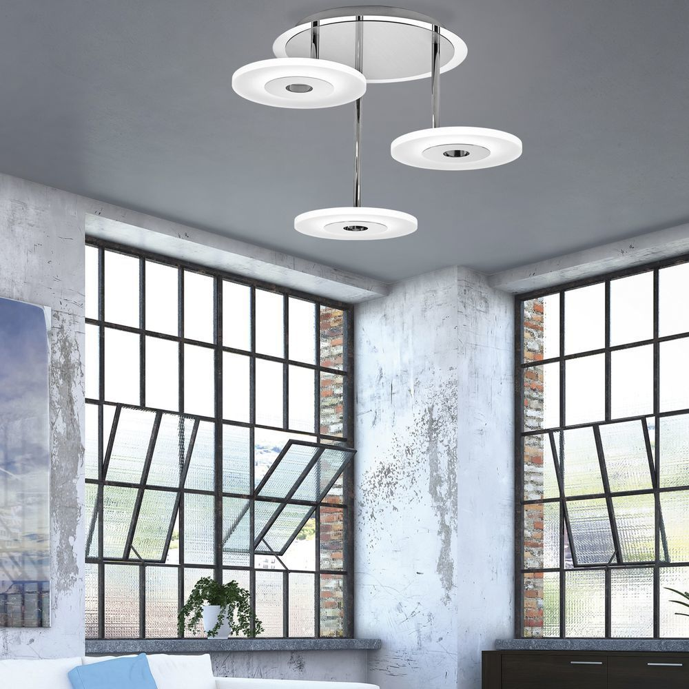 LED Deckenleuchte Deckenlampe Rund Lampe Wohnzimmer Schlafzimmer Beleuchtung DE