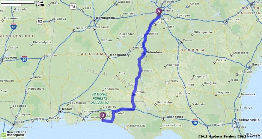 Atlanta Ga To Panama City Fl