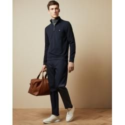 Photo of Half zip sweater with stand up collar ted baker ted baker