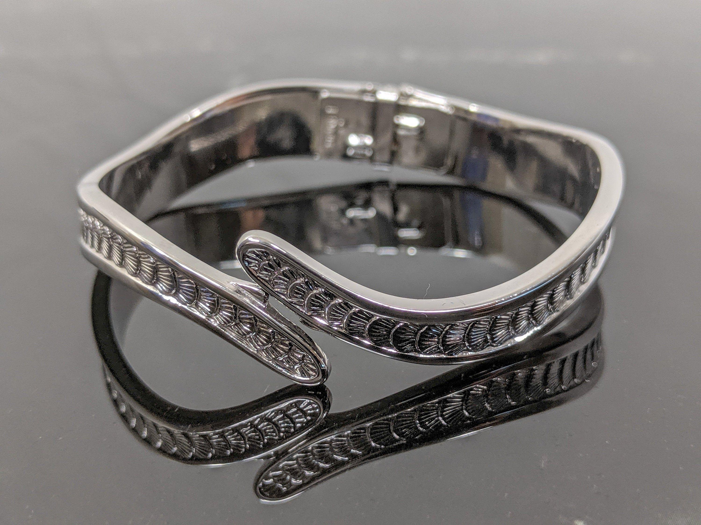 Classic Monet Silver Tone Bracelet