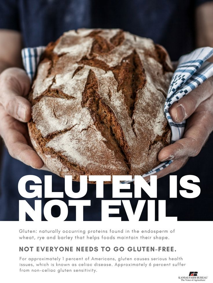 You don't have to go gluten-free if you don't suffer from ...