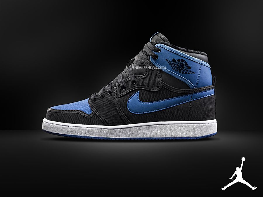 Air Jordan 1 KO - Black - Royal - SneakerNews.com