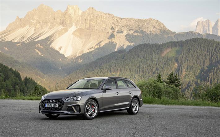 Download Imagens Audi A4 Avant 2020 Exterior Vista Frontal Combi Cinzento Novo Tom De Cinza A4 Carros Alemaes Audi Besthqwal In 2020 Audi A4 Avant Audi A4 Audi