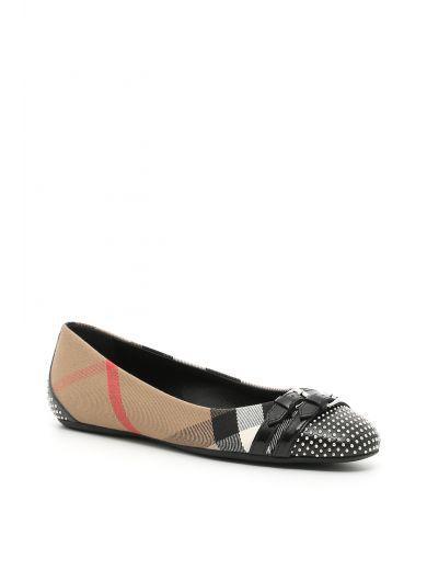 ballerina burberry shoes