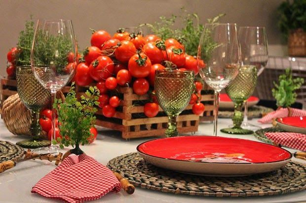 CASA TRÈS CHIC INDICA. Pizza ItalyTable DesignsTable SettingsTable ... & CASA TRÈS CHIC INDICA | Fresh thyme Centerpieces and Tablescapes