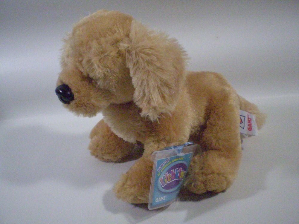Ganz Webkinz Butterscotch Golden Retriever Puppy Dog Hm690 New