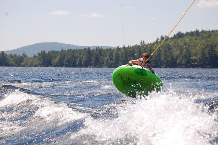 Water sports at Camp Micah, a coed, Jewish summer camp