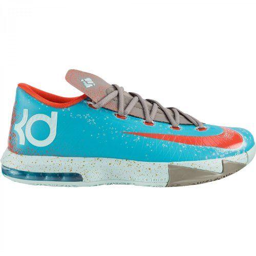 NIKE KD VI Men's Basketball Shoe, Blue/Gold, US10 Nike,http: