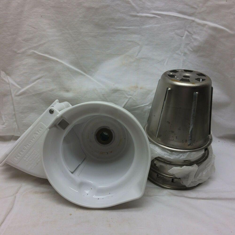 Kitchen aid mixer slicer shredder parts attachments