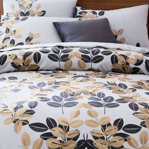 this my favorite bedding at the moment from west elm flower pattern without being feminine a nice neutral but stylish look