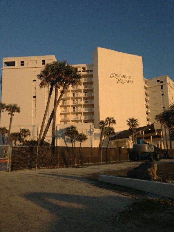 Abandoned Treasure Island Daytona Beach