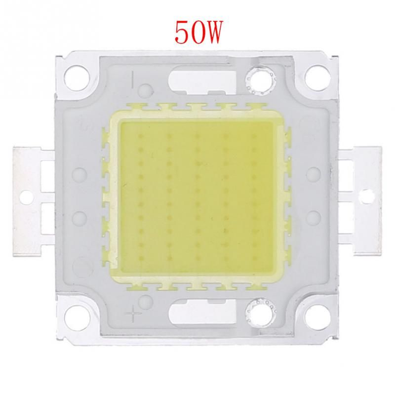 20pcs 50w White High Power Led Flood Light Lamp Bead Smd Chip Dc 9 12v Note Small Orders Only In China Tracking Led Flood Lights Power Led Flood Lights