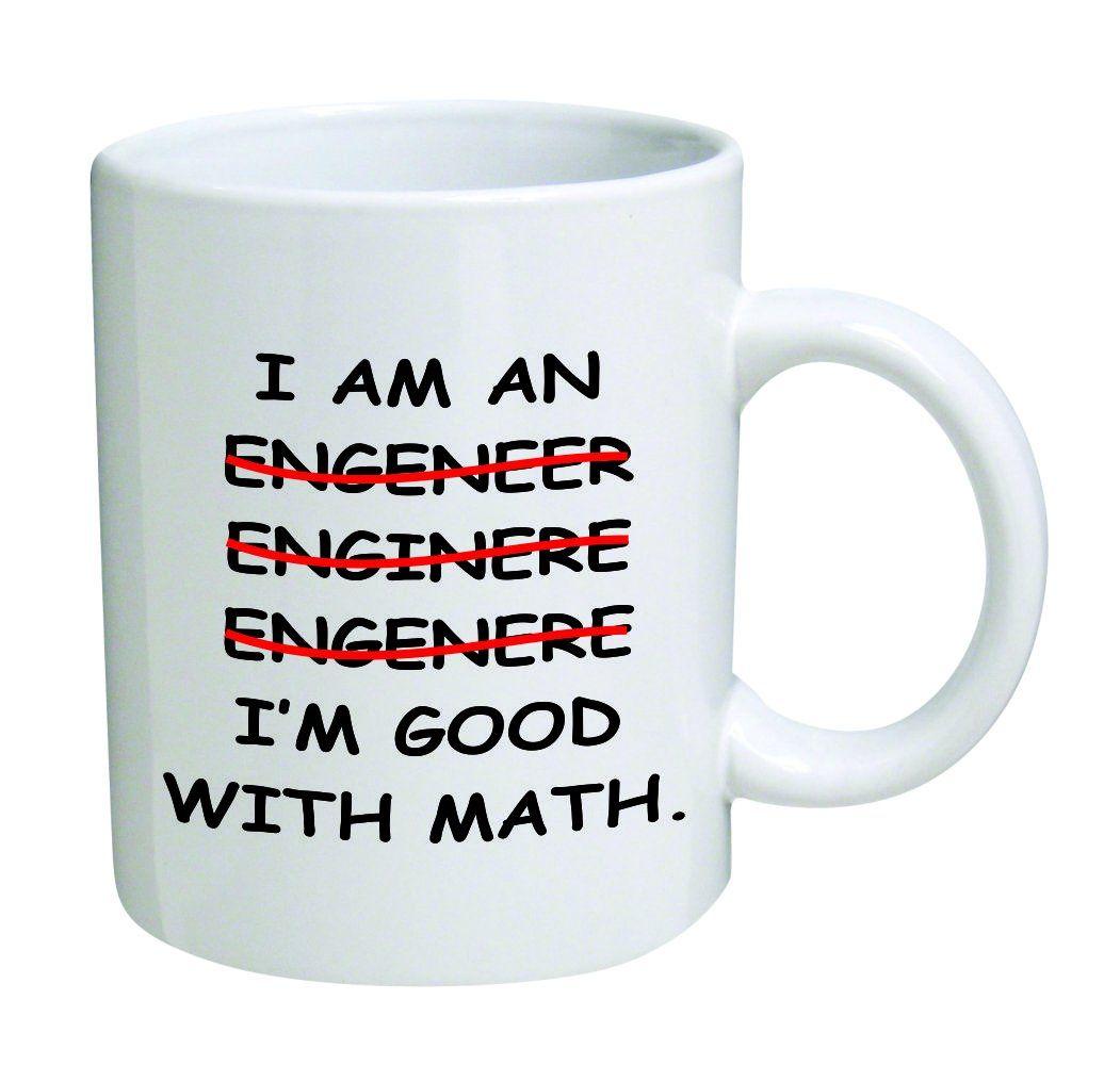 Im an engineer good with math coffee mug 11 oz mug