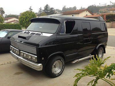1979 Dodge Street Van, B100, Custom, Muscle Van, 70's Street Machine