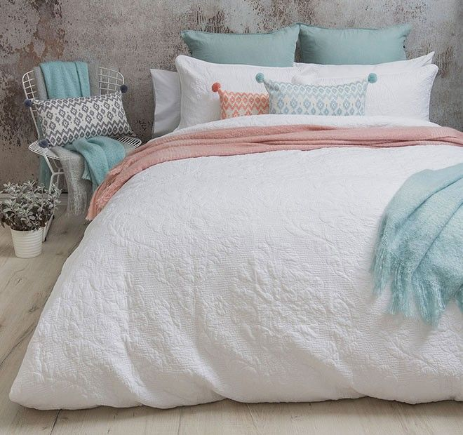 Harlow Quilt Cover Set Range Manchester Warehouse