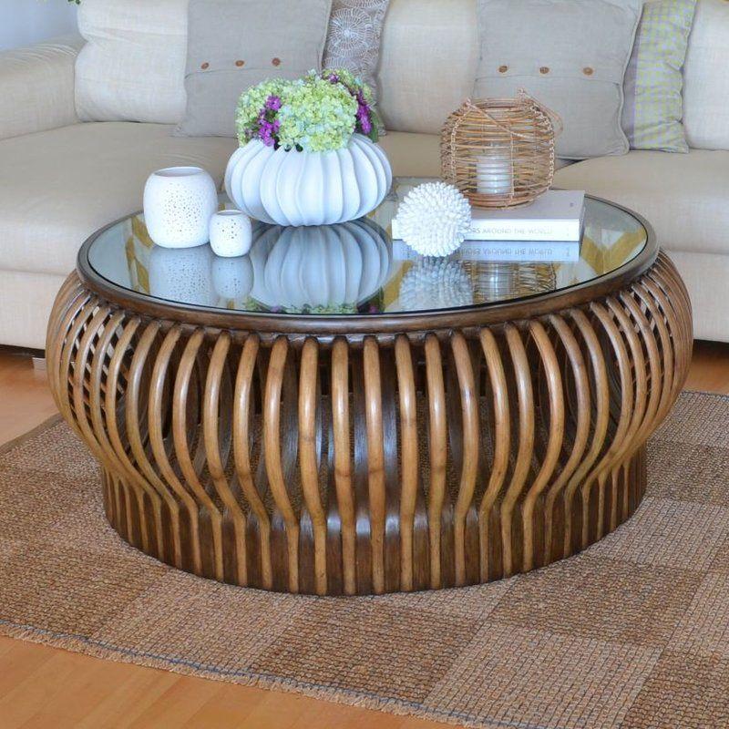 Honey Comb rotin Table basse (avec images) | Table basse ...