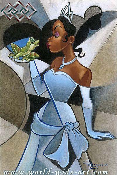 disney princess and the frog tiana