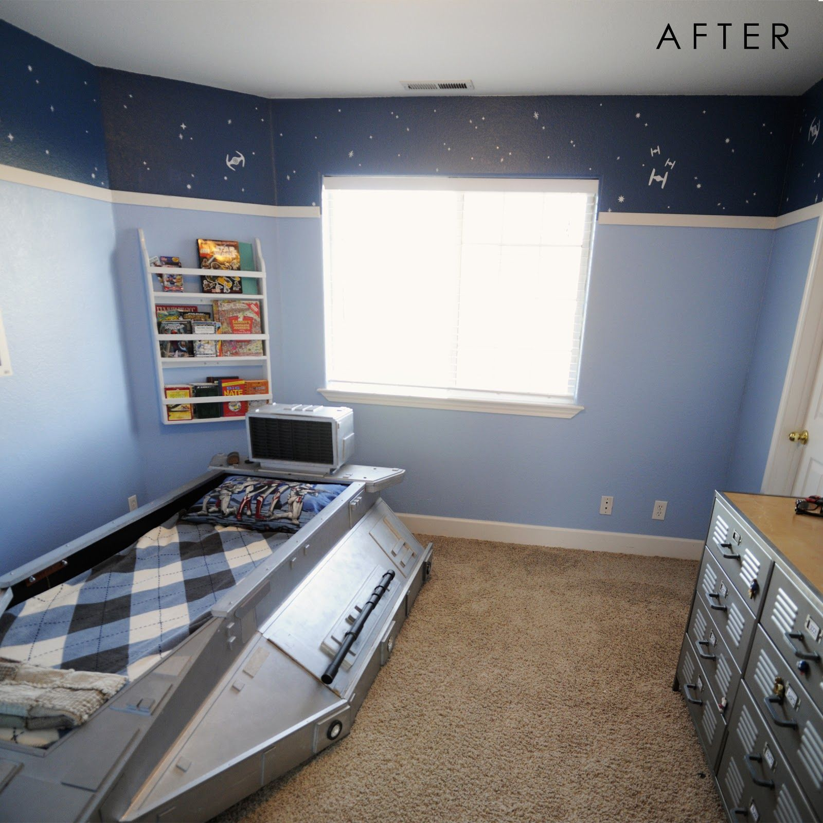 Star Wars Bedroom, Starwars I Like How They Painted The