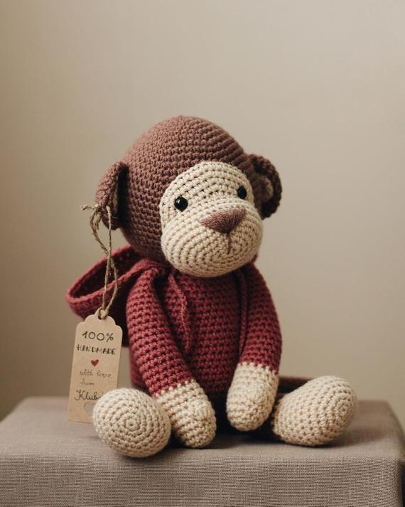 PATTERN: Monkey in the hood #instructionstodollpatterns