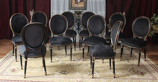 Les Meubles Nayar Fabricant De Chaises Medaillon De Style Louis