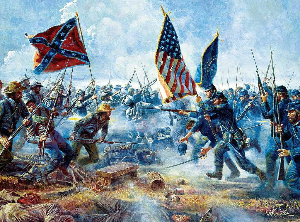 """""""Charge of the Tarheels"""". The 26th NC infantry arrives in ... 