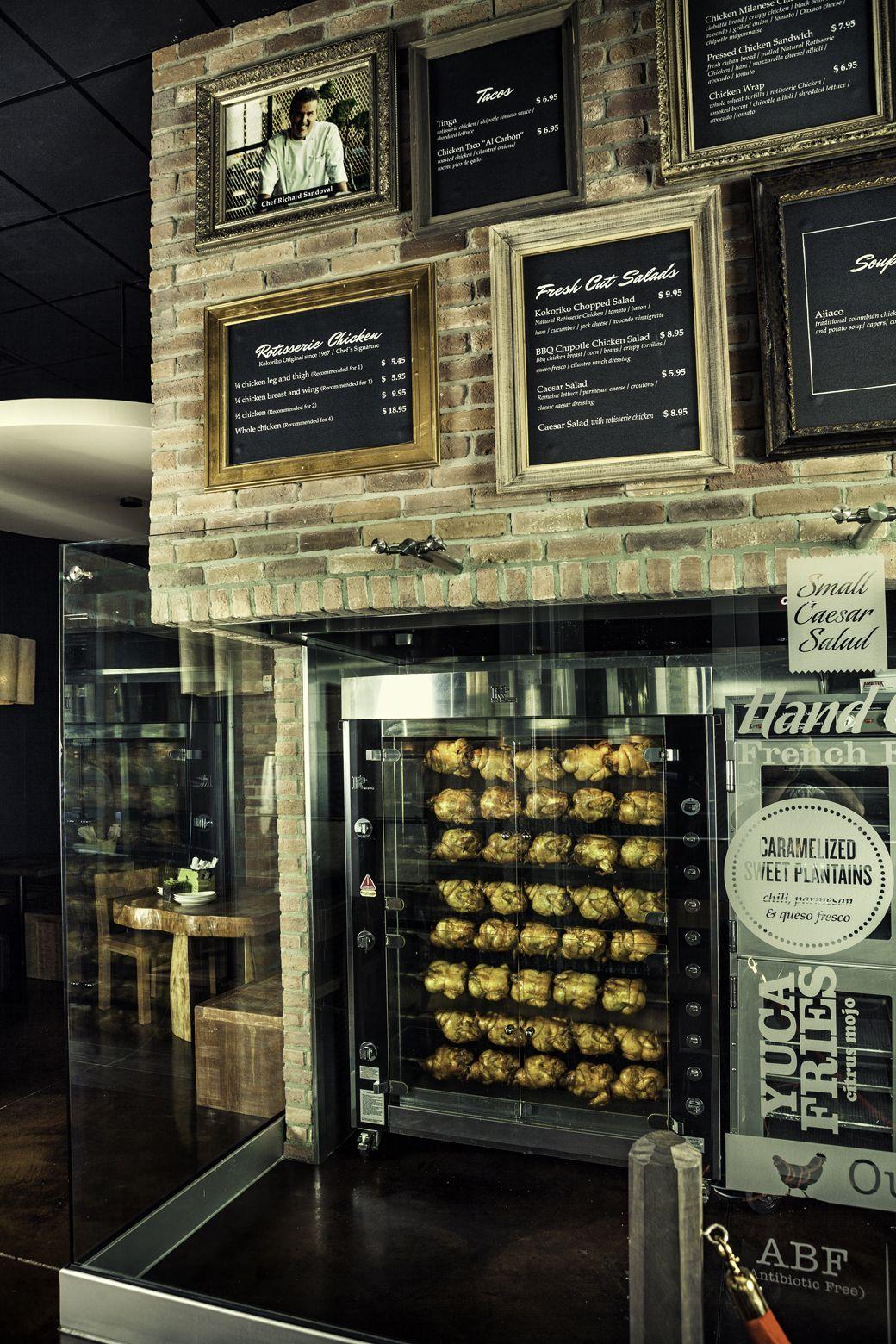 The rotisserie at Richard Sandoval\'s new Miami eco-friendly ...