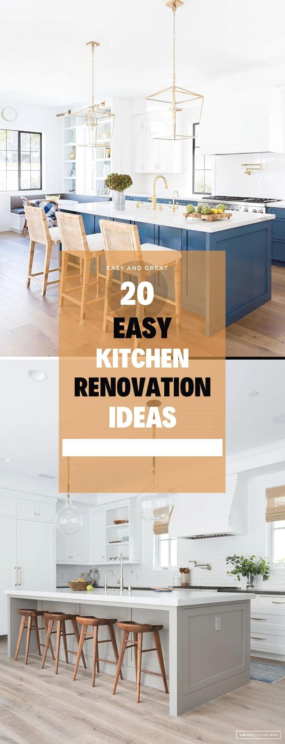 Easy DIY Ideas to Remodel Your Kitchen in 9   Diy kitchen ...