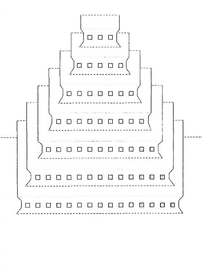киригами архитектура схема