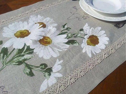 Ľanová štóla Marguerite by shabby.romantic - SAShE.sk - Handmade Úžitkový textil